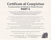 Certificate Of Completion Part ll 27-29 April 2014